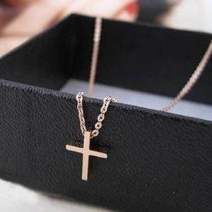 Mini Cross Necklace MWl