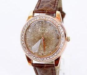 NT0212 Fashion Rhinestone Belts watch Women's watch